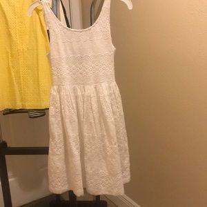 Gap Kids Sleeveless White Dress